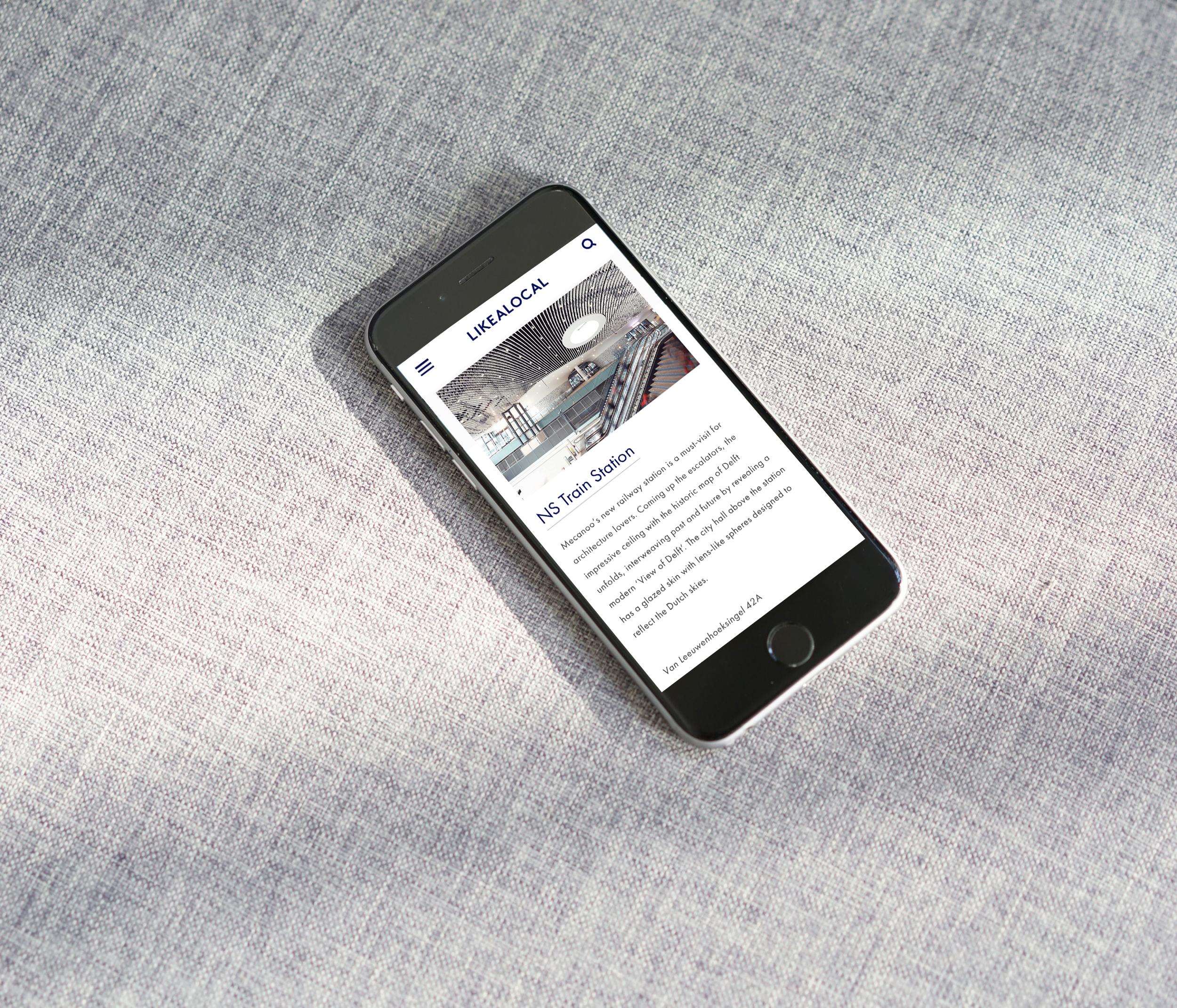 Mobile-scene